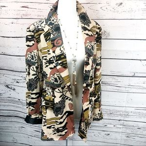 Harve Benard Abstract Blazer Jacket